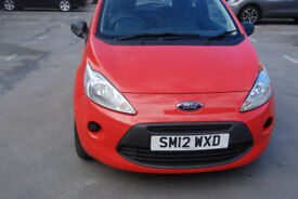 2012 Ford Ka 1.2l Studio in excellent condition