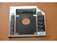 HDD/SSD SATA III caddy for Apple MacBook (Pro) -Data doubler