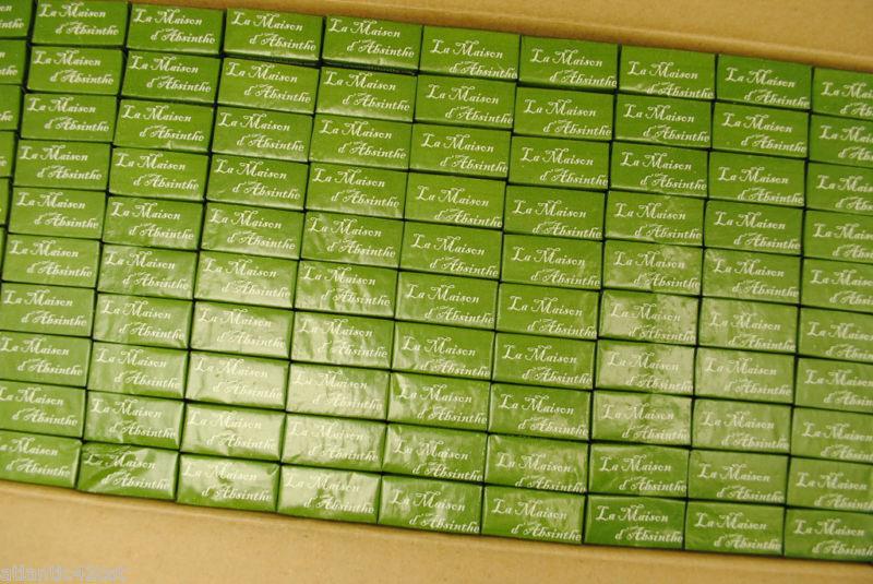 50 Absinthe Sugar Cubes Wrapped, use w/ Spoon, Dripper, Fountain