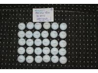 30 Titleist PRO VIs & PRO VIx GOLF BALLS (excellent condition) Batch A