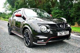 2014 Nissan Juke NISMO Black, 4x4 CVT, *IMMACULATE* Full Nissan Service History, Low Mileage