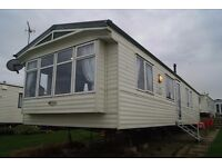 Luxury 8 Berth Caravan at Reighton Sands (Haven) ,Double Glazed ,Fully Central Heated ,3 Bedroom,