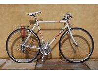 Pendle Race Bike Retro Second Hand White and Red 21 inch