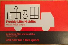 Removals, House and Flat move, Clearance, Gumtree & IKEA Delivery, Man and Van Service & Courier