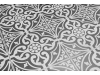 Traditional stone floor tiles