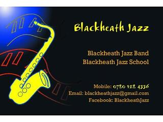 Blackheath jazz school-- new term