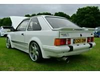 WANTED FORD ESCORT RS TURBO SERIES 1 2 S1 S2 RS MK2 MK3 MK4