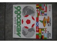 Mexico 86 World Cup Panini Sticker Album - Complete.
