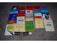 Bulk Sale of Clarinet Music and Reeds all unused and excellent condition