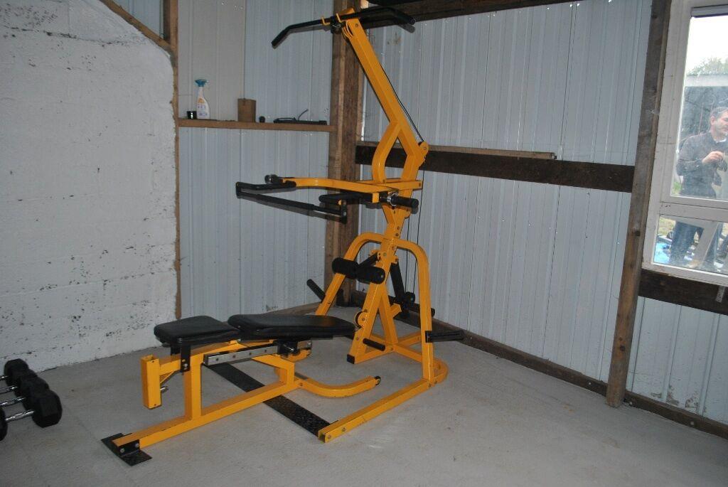 Bodymax workbench levergym olympic plate loaded multi gym