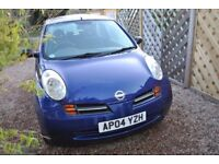 NISSAN MICRA S 1.2 2004 low mileage