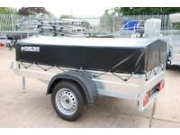Box trailer 6x4 750kg single axle with low cover