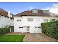 A beautiful five bed house available now with four bathrooms and off street parking with garden