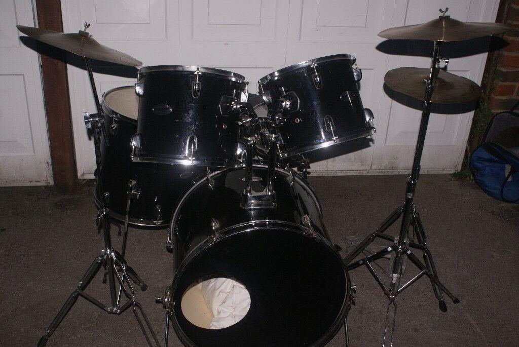 Fender Starcaster Drumkit Complete In Havant Hampshire Gumtree