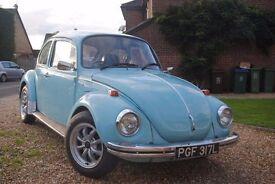 VW classic beetle l1600 1973
