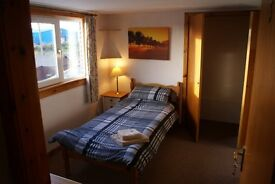 Secure rooms available from £12-£15 per night all bills included,wifi Ideal for workmen in area