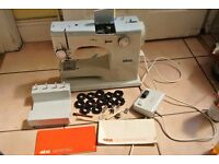 Elna model ST with embroidery or decorative Stitch CAMS sewing machine