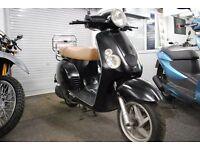 Baotian 50cc Retro Scooter, Long MOT, Low Mileage **RIDE AWAY TODAY**