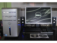 Dell Inspirion 530, Dual Core 1.60GHz, 3GB Ram, 320GB HDD, 19''LCD, Keyboard & Mouse, Speakers, Win7