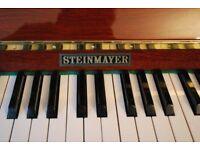 Steinmayer Upright Piano Excellent Condition with stool