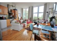 Superb, modern, bright, 2 double bedroom 1st floor apartment with 2 small terraces in Shoreditch