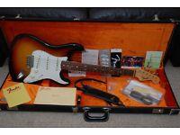 Fender American Vintage 1965 ('65) Stratocaster Reissue - 3 Tone Sunburst