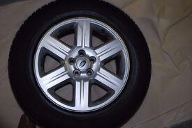 Freelander 2 (2007-2012) 17in genuine alloy wheels & tyres