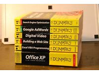 Set of Computer manuals from Dummies series