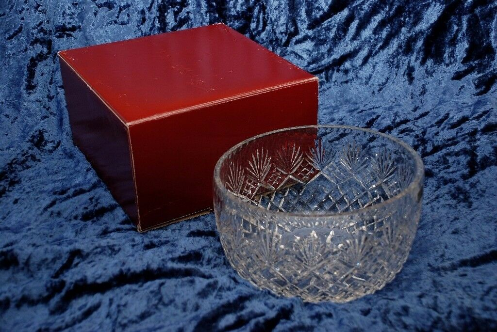 Crystal hand cut bowl - Sudety - from Mappin & Webb