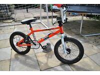 """bmx kids bike custom 16"""" great for starting skateparks"""