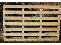Garden Fencing Sections 1200mm x 800mm Made from Recycled Boards. £4 each