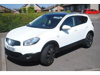 Nissan Qashqai N-Tec+ 2012 (62) 1.5 dCi in White 5dr 2WD 51K Miles
