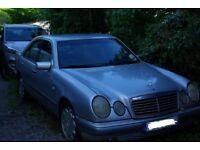 Mercedes E280 Elegance 4 door saloon 1996 spares or repair Failed MOT £200 No offers
