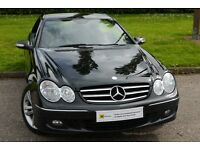 £0 DEPOSIT FINANCE (58)Mercedes-Benz CLK 1.8 CLK200 Kompressor Avantgarde 2dr***FSH** HIGH SPEC COUP