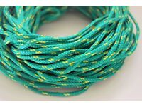 5 meters 12mm Polypropylene Poly Rope Braided Cord Line Sailing Boating Yacht Camping