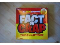 Fact or Crap board game (Barely used)