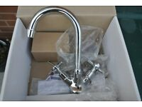 brand new Piller Tap with pipe work and waste
