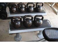 *RARE* Eleiko Kettlebell Set with Stand - Weights Kettlebells Crossfit Gym