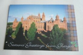 Seasons Greeting From Glasgow Christmas Cards.