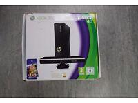 Xbox 360 Slim 4GB with Xbox Kinect £65