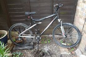 Bicylce for Sale £60 Apollo FS26S Tourney Shimano Gears. Serviced last year but hardly used.