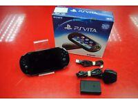 Sony PS Vita Slim PCH-2003 Black WiFi Boxed £110