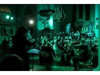 Singers and musicians wanted for Film orchestra