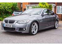 BMW 325D 330D M Sport Coupe 2011 3 Series E92 Full Service History