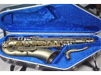 REDUCED -- Selmer Reference 54 Tenor Saxophone - Vintage Finish - Great Condition - Hiscox Case