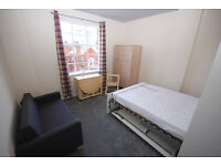 A studio apartment in this Popular development just off Kings Street. Heating and Hot water included