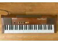 Roland Piano Plus 60 Keyboard HP-60 Vintage Rare