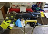 Caravan and camping accessories for sale due to bereavement