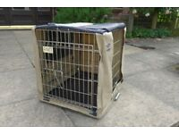 Croft Dog Crate - ideal small dog/puppy. Goes in my Mini!