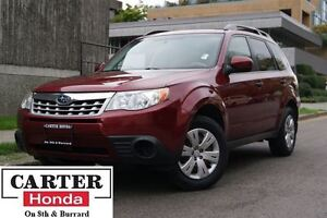 2012 Subaru Forester 2.5X + AWD + LOCAL + NO ACCIDENTS!